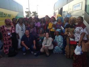Grupo Nigeria - Beatificación Alvaro del Portillo