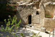 Tumba de Jesús en Tierra Santa