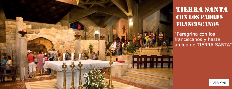Peregrinación a Tierra Santa con los Padres Franciscanos